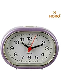 Horo Snooze With Radium Purple Alarm Clock 9x3x6.5cm