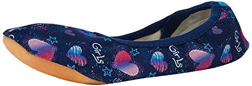 Beck Mädchen Girls Gymnastikschuhe, Blau (Dunkelblau 05), 29 EU