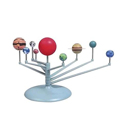 TOYMYTOY Sonnensystem Modell Kinder Wissenschaft Lernspielzeug Geburtstagsgeschenk -