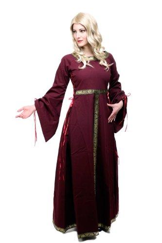 Kostüm Damen Damenkostüm Kleid Mittelalter Romanik Gotik Gothic Burgfräulein L054 Gr. 46 / L - 5
