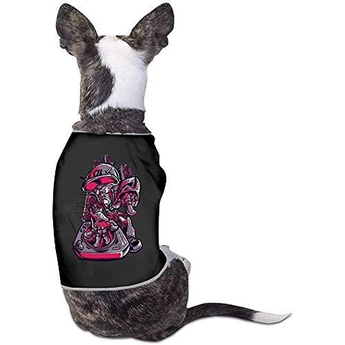 Frederih Dj Macht Mich verrückt schöne Hund Katze Hemd kostüm Haustier Sport Clothing Pullover welpen warmes t-Shirt Outfit Tops - Verrückter Hunde Kostüm