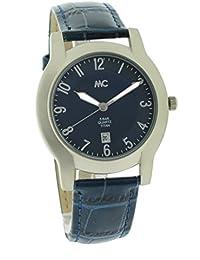 MC Timetrend Damen-Armbanduhr Titan Analog Quarz Lederband 51458