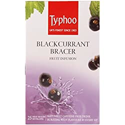 Typhoo Black Currant Bracer Fruit Infusion 25 Envelopes