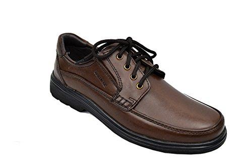 Zerimar Chaussures en cuir pour hommes Chaussures décontractées pour hommes Chaussures Habillées pour Hommes Chaussures Élégantes Marron