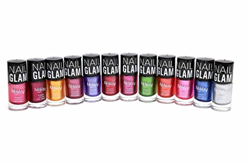 Foolzy® Pack of 12 Nail Polish Paint 120ml