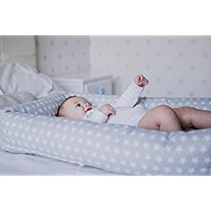 Cuco Nest reductor by Mimuselina | Cama nido bebe (desenfundable y lavable) Babynest para colecho seguro