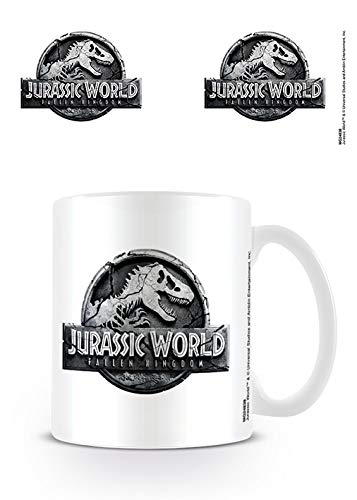 GB eye Taza Jurassic World Fallen Kingdom Logo, Unico