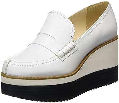 Iconic, Mocassini Donna, Bianco (Bianco 101), 40 EU Jil Sander