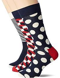 Happy Socks Stripe Gift Box Calcetines (Pack de 4 para Mujer