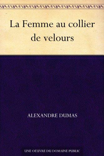 Couverture du livre La Femme au collier de velours