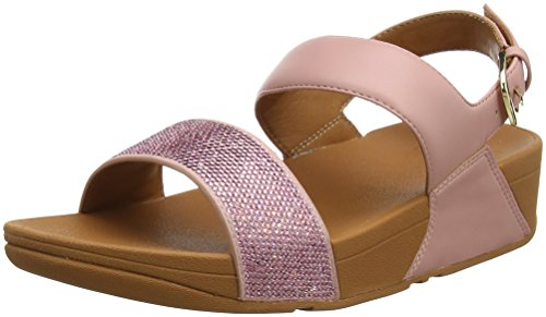 Attacco Rosa Fitflop Rosa cinghia Femme Ouvert Ritzy Sandales Back scuro RSSIwT