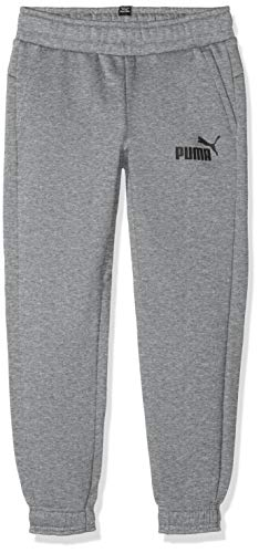 Puma Jungen ESS Logo Sweat Pants TR cl B Hose, Medium Gray Heather, 164 -