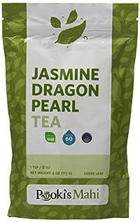 Pooki's Mahi Jasmine Dragon Pearl Tea, 4 Ounce