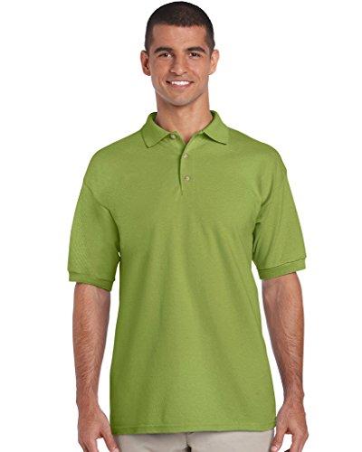 Gildan Ultra Herren Piqué Polo-Shirt, Kurzarm L,Kiwi