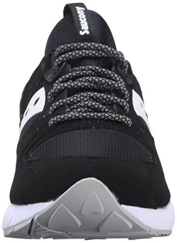 Saucony Grid 9000, Baskets Basses Homme, Taille Unique Noir (Black/White)