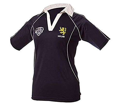 Full Time Sports Scotland Ladies Rugby Shirt (Grade Uo A Full Size) - 08-10 -