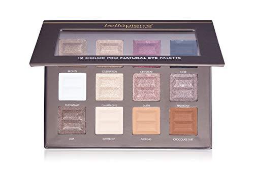 2f8de9ba5cb8 Bellápierre Cosmetics Make-up Augen 12 Color Pro Natural Eye Palette 21 g