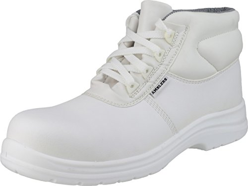 Amblers Safety Mens FS513 White Waterproof Safety Boots White white