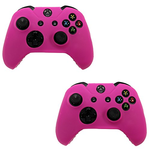 hde-2-pack-xbox-one-controller-skin-protective-silicone-gel-rubber-grip-cover-for-wireless-gaming-co