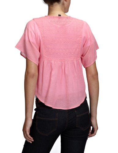 Vero Moda - Chemisier - Manches 1/2 - Femme Rose (Miami Pink)