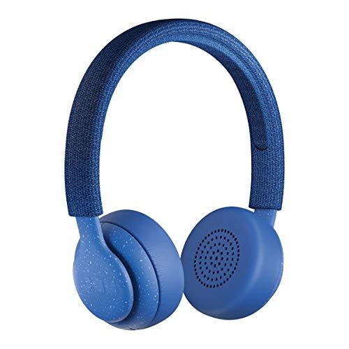 Jam Been There, Cuffie On-Ear Bluetooth, Driver da 40 Mm, 14 Ore di Riproduzione, 10 Metri di Raggio, Impermeabile IPX4, Blu
