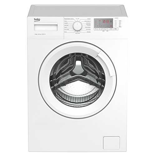 Beko WTG841B1W A+++ Rated 8Kg 1400 Spin 15 Programmes Washing Machine in White Best Price and Cheapest