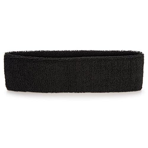 onupgo sudore Band Sport fascia athletisches cotone Terry Cloth Sweat fascia  per yoga 9e855155f12f