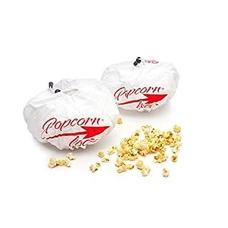 2 x Popcornloop Ersatzhauben Doppelpack Original Design Geeignet Für Popcornloop Mais Popcornmaschine 100% Baumwolle Waschmaschinenfest