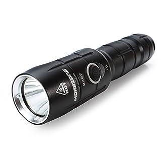 Starke LED Taschenlampen Wiederaufladbar, CREE XM-L2 T6 Extrem Hell LED, IP-X6 Wasserdichte Elekin Taktische Flashlight für Camping Wandern Handlampe Mit 4 Modis Einstellbar