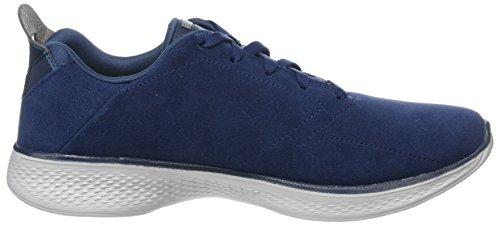 Skechers Damen Go Walk 4 Ausbilder Blau (Navy/Grey)