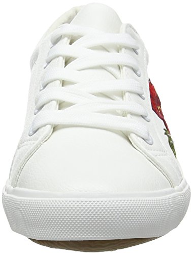 New Look - Wide Foot Mitchy, Sneaker basse Donna White (White)
