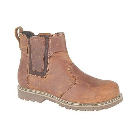 Amblers Abingdon Casual Dealer Boot / Mens Boots / Mens Boots (11 UK) (Brown Crazy Horse)