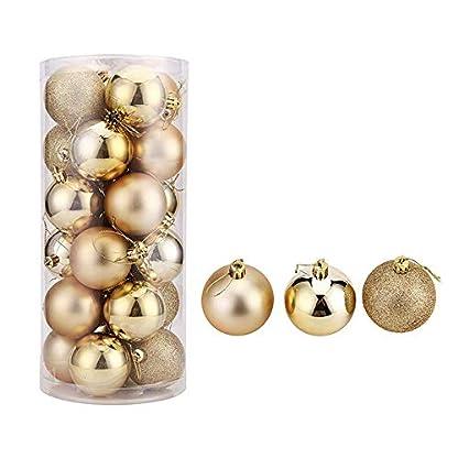 LYX-Weihnachtsbaumkugeln-zum-Aufhngen-Kunststoff-Miniatur-Weihnachtsdekoration-fr-Weihnachten-Party-24-Stck