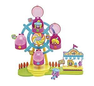 MOJIPOPS - Ferrys Wheel con 2 exclusivas figuras MojiPops y variedad de accesorios
