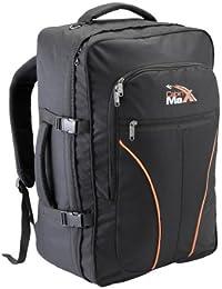 Cabin Max Tallinn Flugzugelassenes Backpack für Easyjet 55x40x25cm. Wasserdicht 600D Material