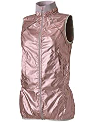 Casall Jackets Metallic Run Vest Pink 38