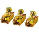 Best Simple Food Storage Containers - INOVERA (Label) Food Storage Basket Organizer Box Rack Review