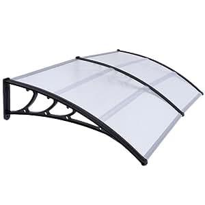 Jago pensilina tettoia parasole tetto porta finestra for Placas policarbonato bricodepot