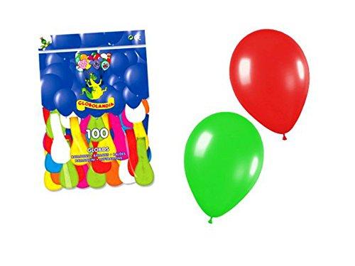 Lote de 5 Bolsas de Globos Colores Surtidos (500 Globos). Juguetes y Regalos Baratos para Fiestas de Cumpleaños, Bodas, Bautizos, Comuniones y Eventos.