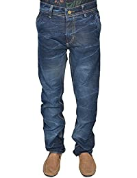 Leo Men's Blue Stretchable Slim Fit Jeans (J9)