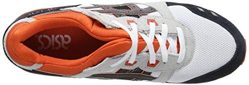 ASICS Gel-Lyte III, Unisex-Erwachsene Laufschuhe Training Weiß (White/Black 190)