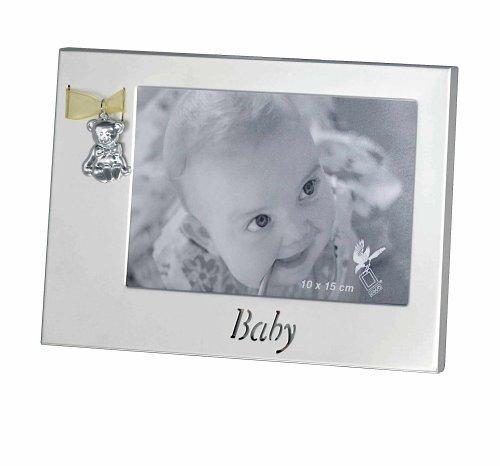 ERNO Bilderrahmen Baby silber 10x15
