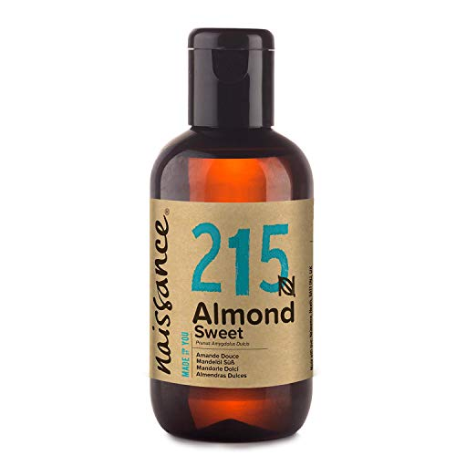 Naissance mandorle dolci naturale 100ml - vegan, senza ogm - ideale per la cura della pelle e dei capelli, l'aromaterapia e come olio da massaggio di base