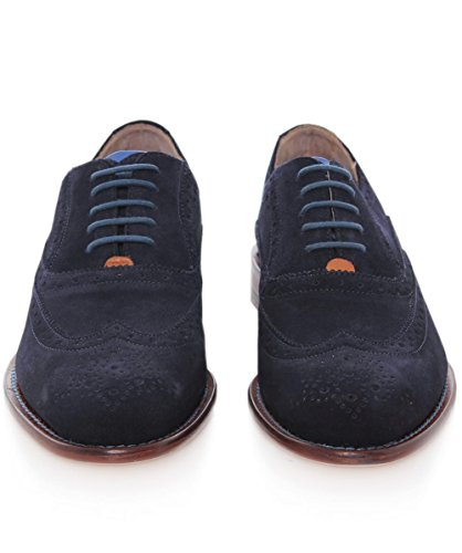 Oliver Sweeney Hommes Chaussures en daim Fellbeck Oxford Marine Marine