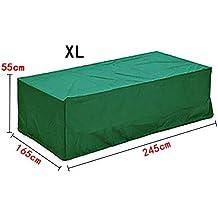 Fundas impermeables para muebles de jardin - Amazon mesas de jardin ...