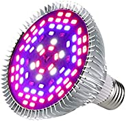 80W 78 LED Lamp Plant Grow Light Full Spectrum Indoor Plant Lamp