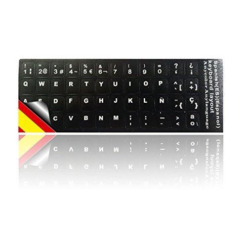 Ledeli - Pegatinas de teclado para PC