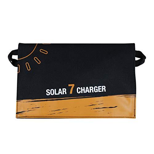 CaracteristicasDiseño compacto: fácil de transportar, encaja perfectamente en los bolsillos o caso o su bolsa de transporte.Sin batería de litio incorporada, puede cargar sus dispositivos a través del puerto USB directamente al sol.Utiliza el panel s...