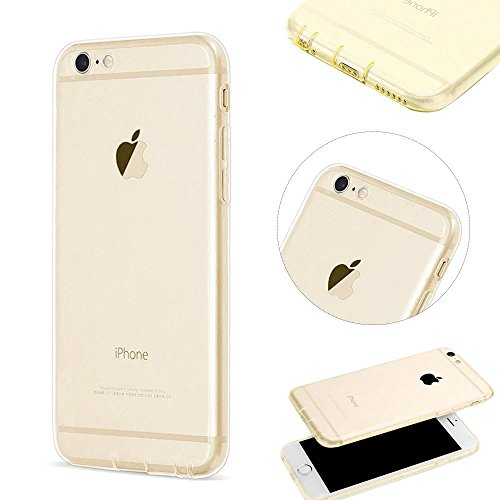 MOMDAD Cover iPhone 5S TPU Silicone Case per iPhone SE Trasparente Custodia Morbido TPU Flessibile Cover Custodia Antiscivolo Satinato Cassa Protettiva per iPhone 5 / 5S / SE Cover gradiente trasparente-1