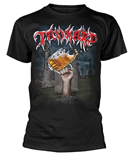 Tankard 'Die with A Beer' T-Shirt (Extra Large)